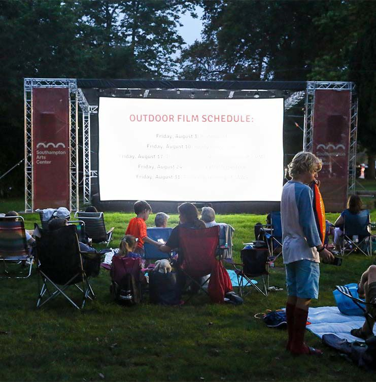 Image of SAC Outdoor Film Series
