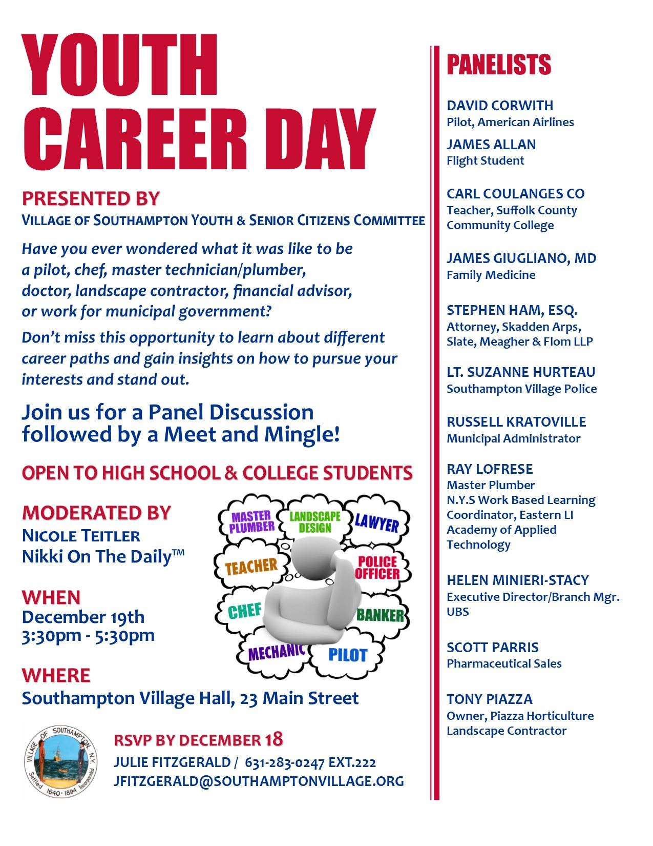 Image of Youth Career Day flyer
