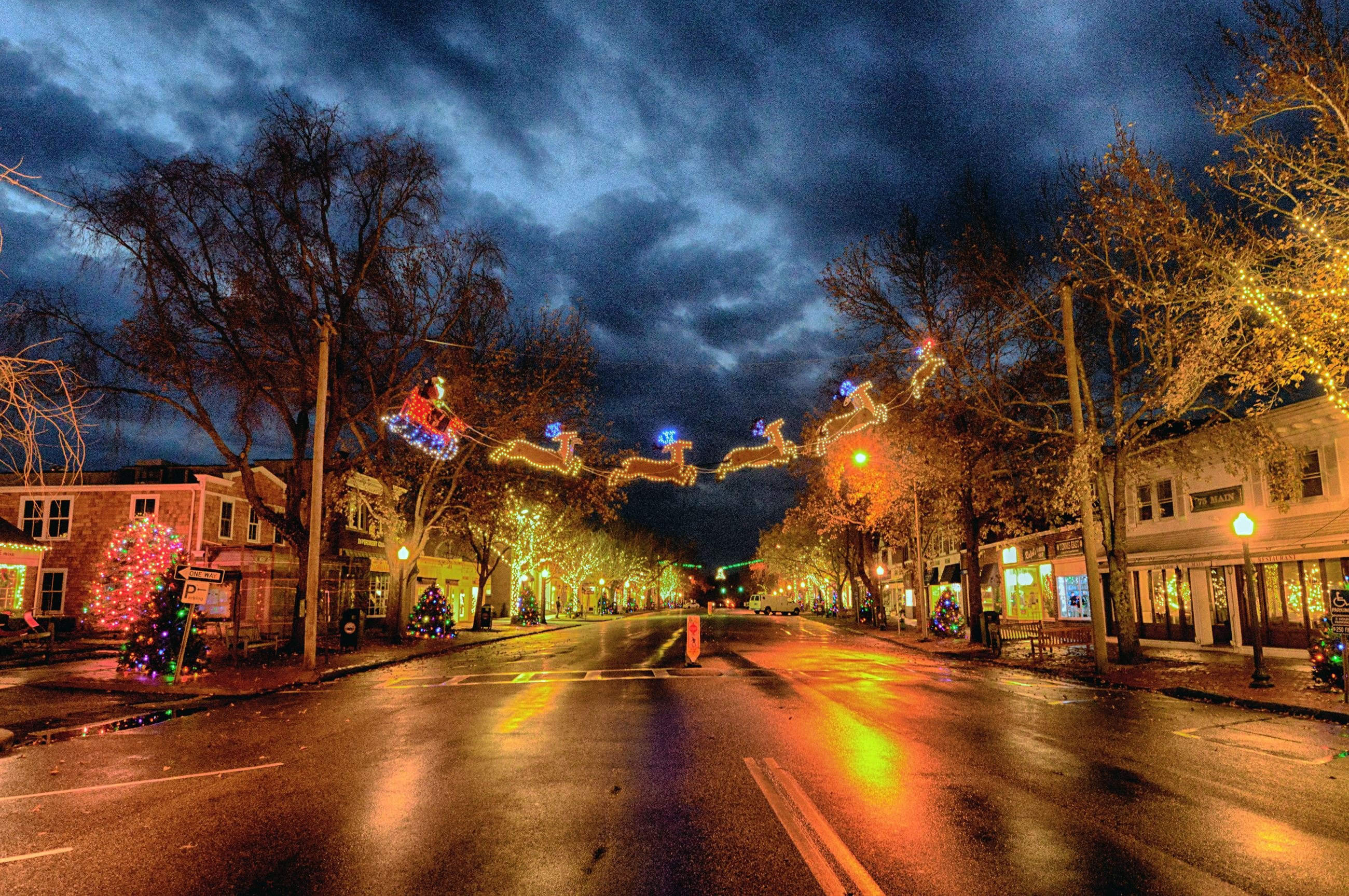 Image of Main Street during the Holidays