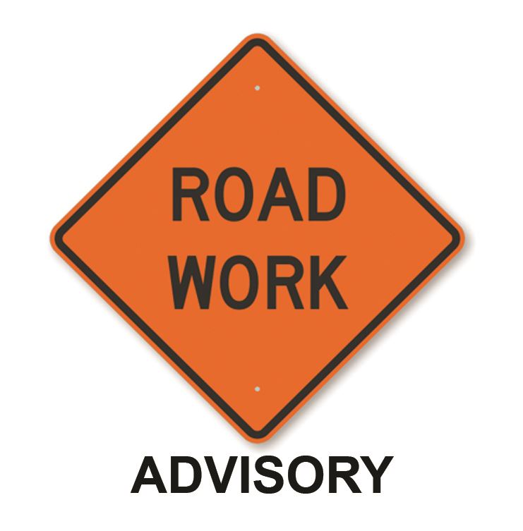 Image of Road Work Advisory