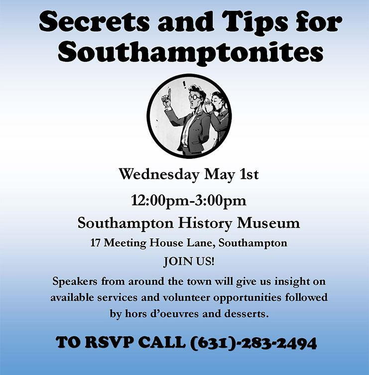 ee6c1fa9015 Secrets   Tips for Southampton Seniors