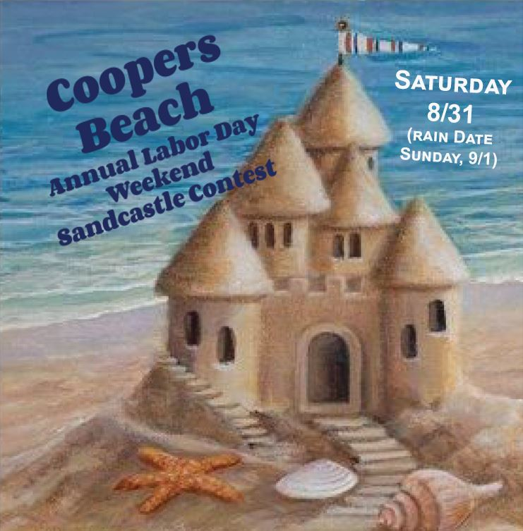 Image of Coopers Beach Sandcastle Contest